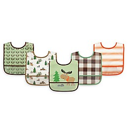 Luvable Friends® 5-Piece Bib Set