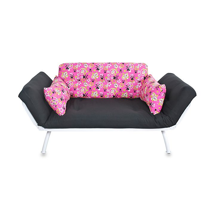 Lightly Used Mali Flex Junior Futon Made With A Durable Silver Metal Frame Six Positional Wings On Convert This Into Sofa Or
