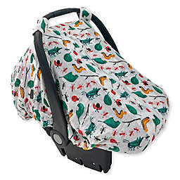 Bebe au Lait® Just Be Muslin Car Seat Cover in Bugs