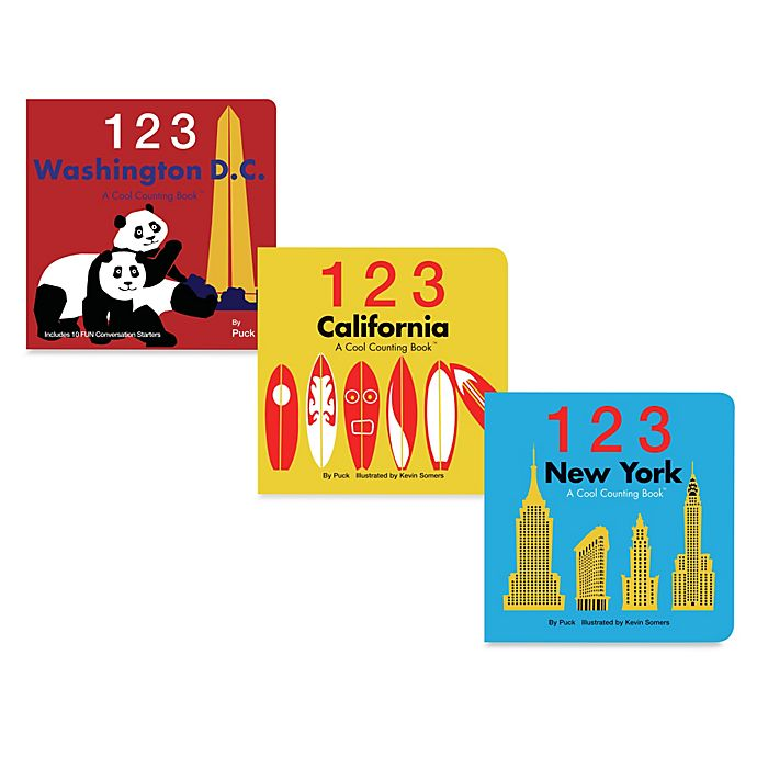 Alternate image 1 for 123: A Cool Counting Book™
