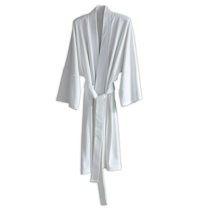 Alternate image 1 for Under The Canopy® Organic Cotton Kimono Robe in White