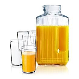 Luminarc Quadro 7-Piece Juice Set