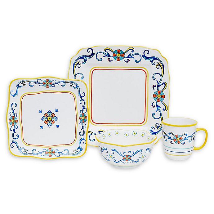 Alternate image 1 for Baum Porto 16-Piece Dinnerware Set