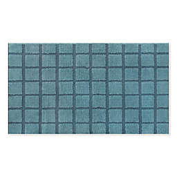 Fashion Grid Bath Rug