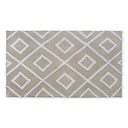 Fashion Diamond Bath Rug