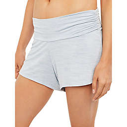 Motherhood Maternity® Ruched Maternity Sleep Shorts in Blue