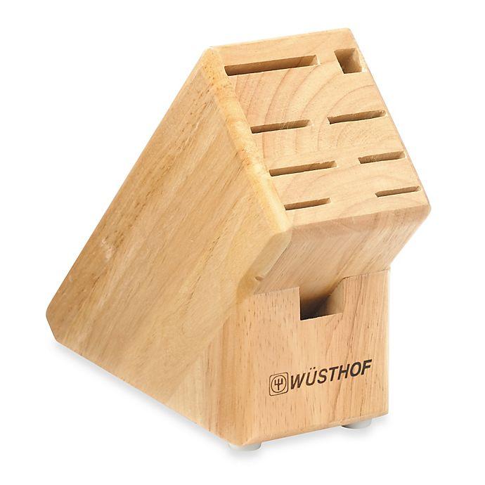 Alternate image 1 for Wusthof® 9-Slot Wood Knife Block