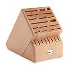 Wusthof® 25-Slot Wood Knife Block