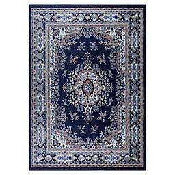 Home Dynamix Premium Sakarya Rug in Navy/Blue