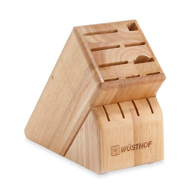 Wusthof 13 Slot Wood Knife Block