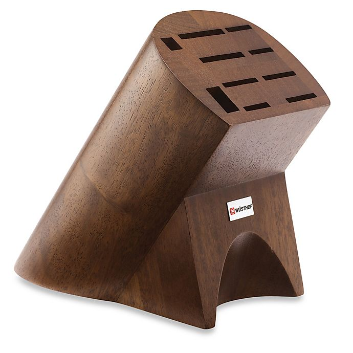 Alternate image 1 for Wusthof® 10-Slot Burmese Walnut Knife Block