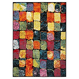 Home Dynamix Splash Scarlet Area Rug