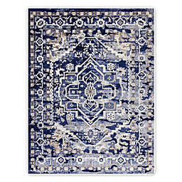 VCNY Home Fiona Medallion Area Rug in Blue
