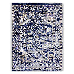 VCNY Home Fiona Medallion 8' x 10' Area Rug in Blue