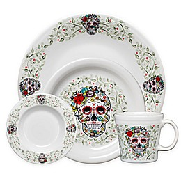 Fiesta® Halloween Sugar Skull Dinnerware Collection