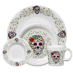 Fiesta® Halloween Sugar Skull Dinnerware Collection