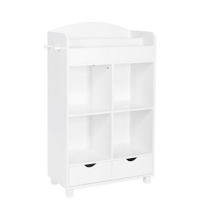 Alternate image 1 for RiverRidge® Home Book Nook Collection Kids Cubby Storage Cabinet in White