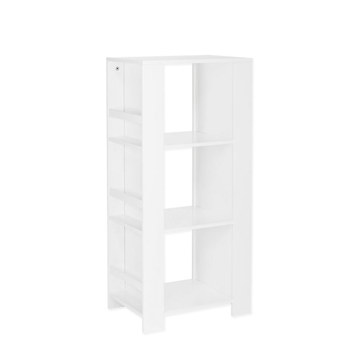 Alternate image 1 for RiverRidge® Home Book Nook Collection Kids Cubby Storage Tower in White