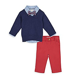 Beetle & Thread® 4-Piece Sweater, Top, Bow Tie and Pant Set