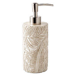 Destinations Palm Wood Lotion Dispenser