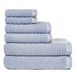 American Dawn Inc. 6-Piece Riley Bath Towel Set