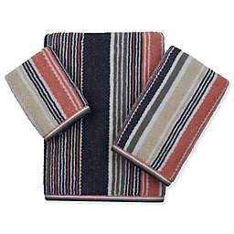 American Dawn 3-Piece Trimont Stripe Bath Towel Set