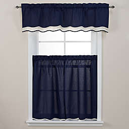 Pipeline Window Curtain Tier Pairs and Valance