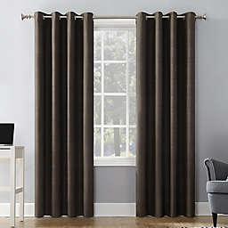 Sun Zero® Duran 108-Inch Grommet 100% Blackout Curtain Panel in Walnut Brown (Single)