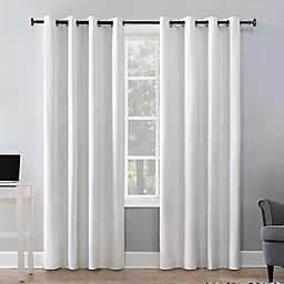 Sun Zero® Duran 63-Inch Grommet 100% Blackout Window Curtain Panel in White