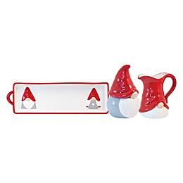 Boston International Christmas Gnome Serveware Collection