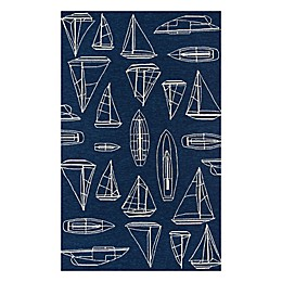 Momeni® Veranda Indoor/Outdoor Area Rug in Navy