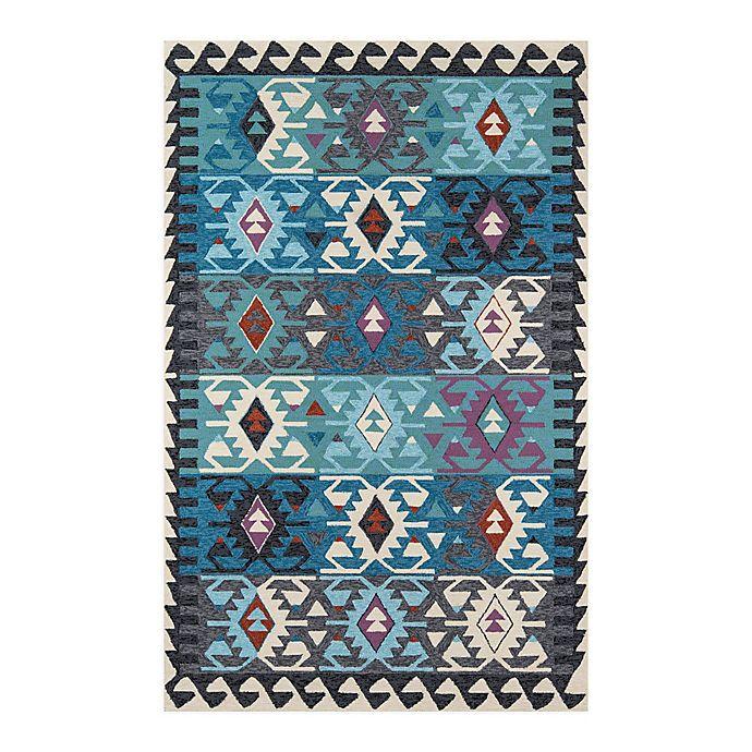 Alternate image 1 for Momeni® Veranda Indoor/Outdoor Multicolor Area Rug