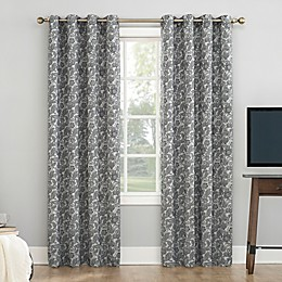 Sun Zero® Dagmar Botanical Paisley Grommet Total Blackout Curtain Panel