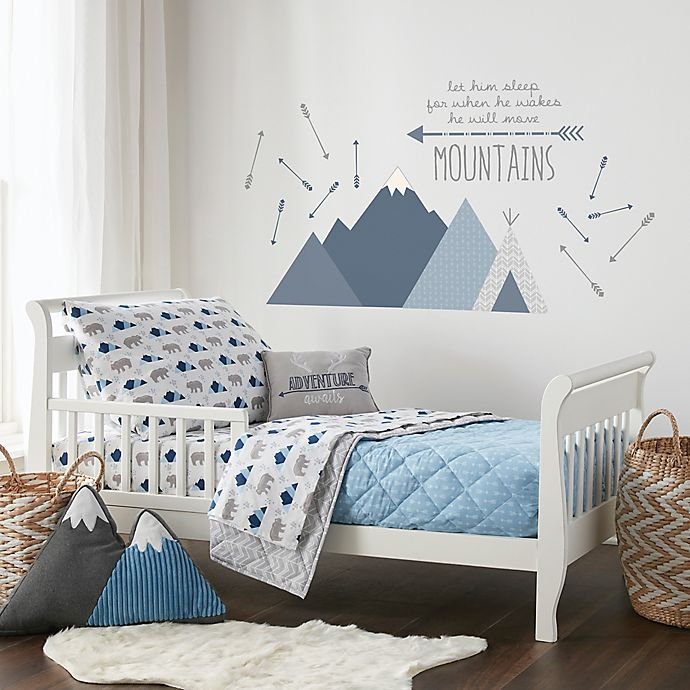 Alternate image 1 for Levtex Baby® Trail Mix Bedding Collection in Blue