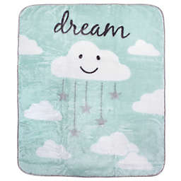 Hudson Baby® High Pile Cloud Blanket in Mint