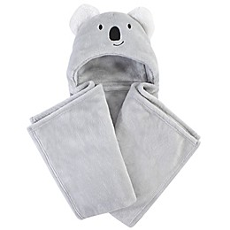 Hudson Baby® Koala Plush Hooded Blanket in Grey