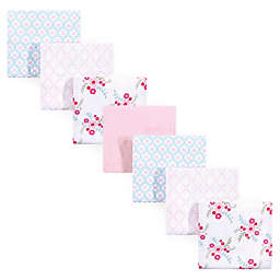 Luvable Friends® 7-Pack Flannel Receiving Blankets in Floral