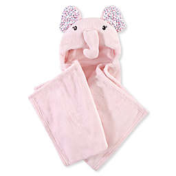 Hudson Baby® Elephant Plush Hooded Blanket