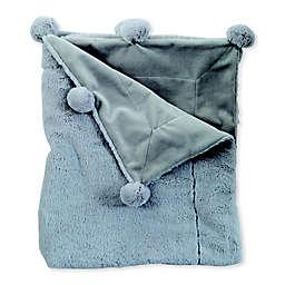 Mud Pie® Pom Pom Receiving Blanket