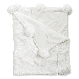 Mud Pie® Pom Pom Receiving Blanket