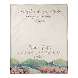 You will do Amazing Things 50x60 PZ Throw Blanket