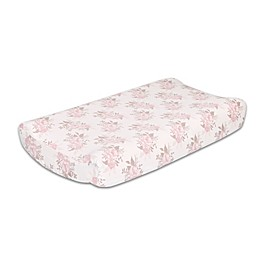 The Peanutshell™ Grace Changing Pad Cover in Pink
