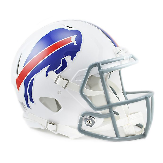 5e974727 Riddell® NFL Buffalo Bills Authentic Speed Full Size Helmet | Bed ...