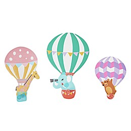 Fantasy Fields 3-Piece Hot Air Balloon Wall Hooks