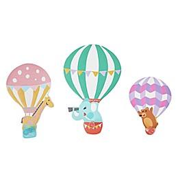 Fantasy Fields 3-Piece Hot Air Balloon Wall Hooks