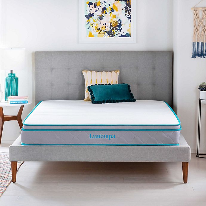 Alternate image 1 for Linenspa Signature Collection 8 Inch AlwaysCool™ Memory Foam Hybrid Twin XL Mattress