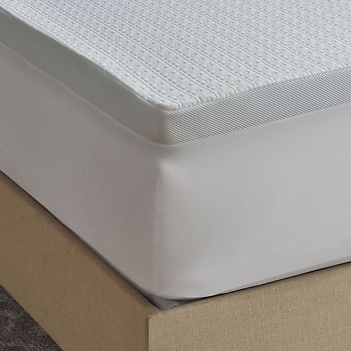 Alternate image 1 for Therapedic® Protection Plus 2.5-Inch Serene Foam® Mattress Topper