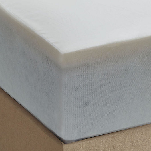 Alternate image 1 for Therapedic® Dreamsmart 1.5-Inch Memory Foam King Mattress Topper