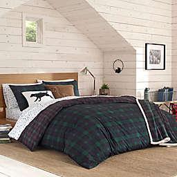 Eddie Bauer® Woodland Tartan Comforter Set in Pine Green