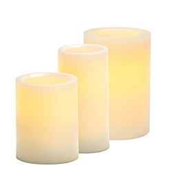 Candle Impressions® Flameless Wax Pillar Candle with 5 Hour Timer